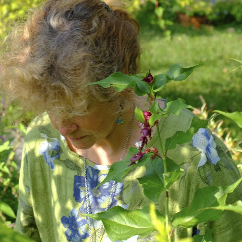 Impressions botaniques - écoprint - nature - Issigeac - Dordogne