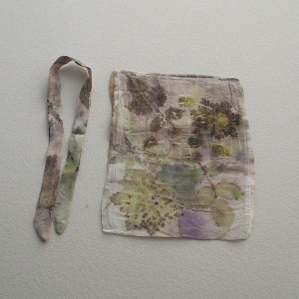 Impressions botaniques, soie, accessoires, Coloratura